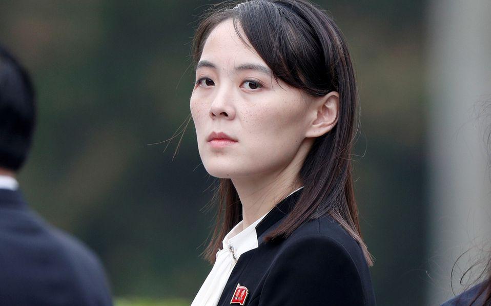Kim Yo-Jong, la hermana de Kim Jong Un, podría ser su heredera (Foto: Reuters)
