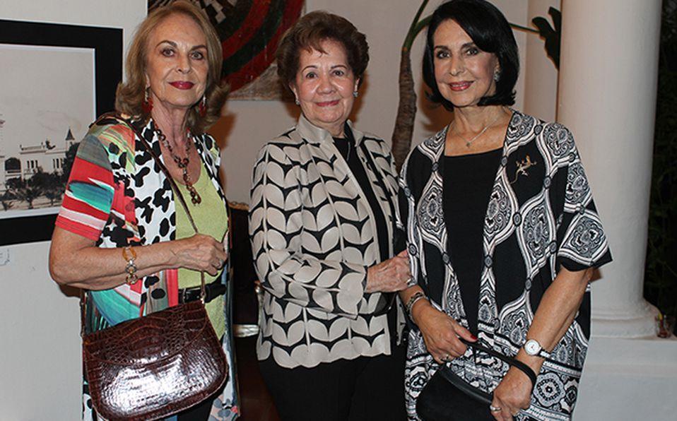 Alfonso Ascencio, Mario Fabré, Mariela del Rio y Alfonso Collignon
