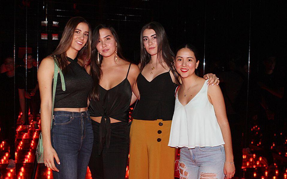 Marcela RenterÍas, Manuela CÁsares, Prisicla Ramírez, Jimena Villa y Gaby Ramos