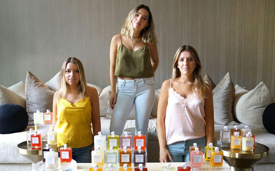 Tania, Bárbara y Fernanda García Noriega Canales / FOTO: CORTESÍA
