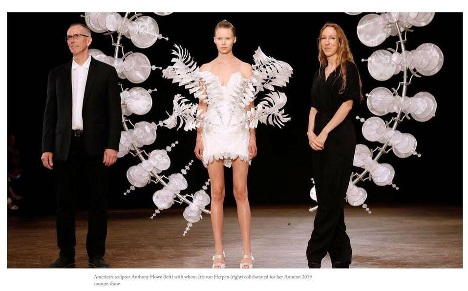 Conoce el trabajo de la diseñadora Iris van Herpen. Foto: The New York Times