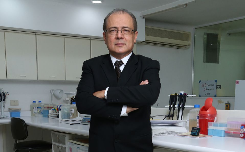 Rafael Argüello nos explica cómo funciona la vacuna anti Covid-19 en México (Foto: Jaime Jiménez)