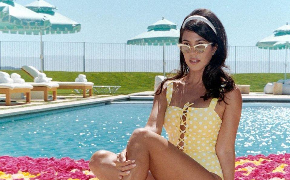 Kourtney Kardashian y el bikini que sincronizó con Kendall Jenner (Foto: Instagram)