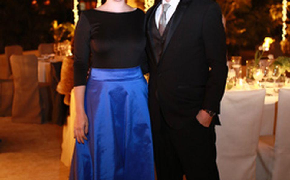 Andrea Merlo y Luis Hinojosa