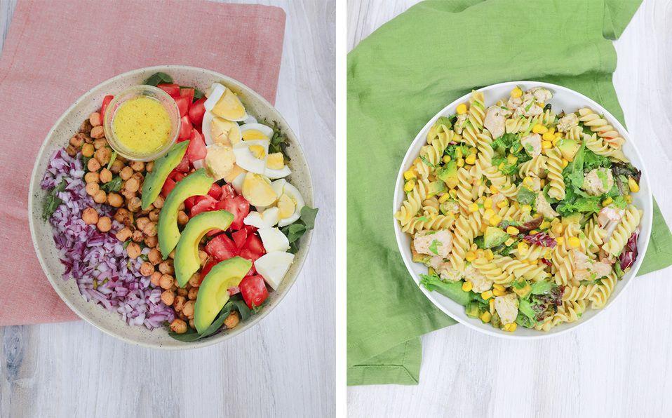 Aprende a preparar estas deliciosas y originales ensaladas. Fotografía de IG: @yovana