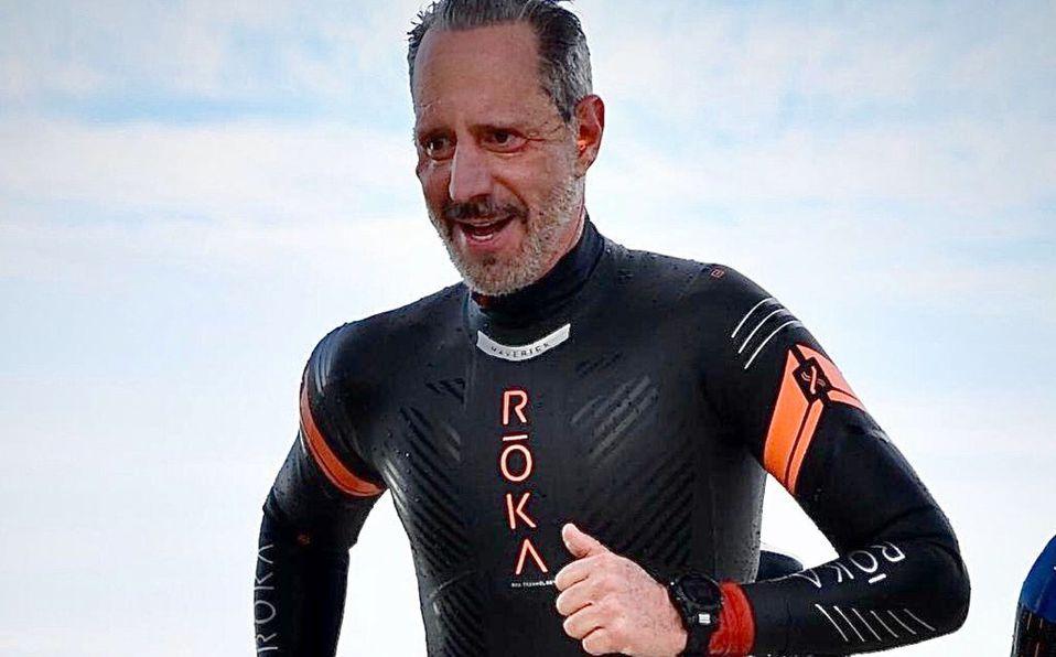 El atleta Luis Álvarez organiza el Ironman Help en apoyo por el Covid-19 (Foto: Cortesía)