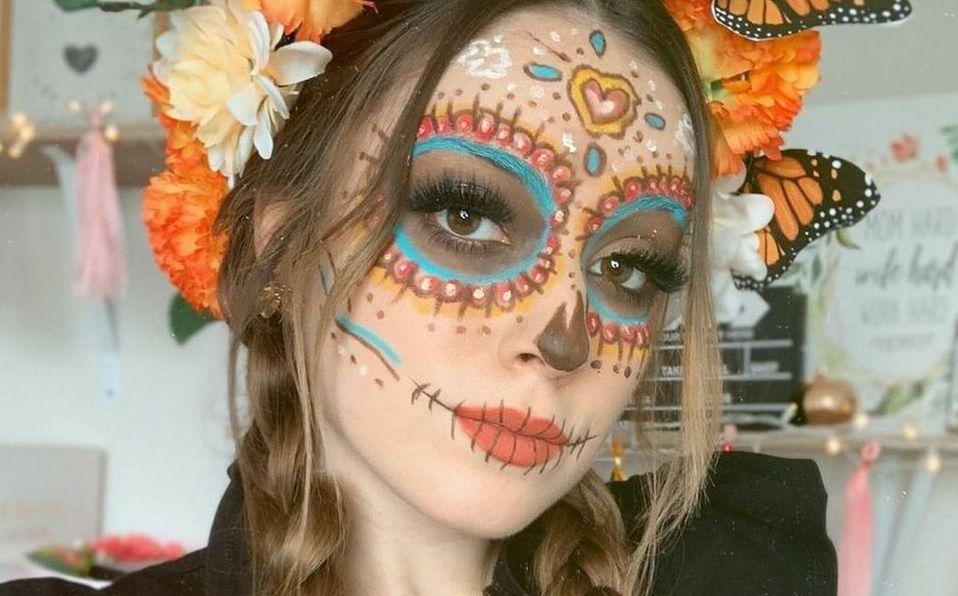 Maquillaje de última hora para Halloween 2020.