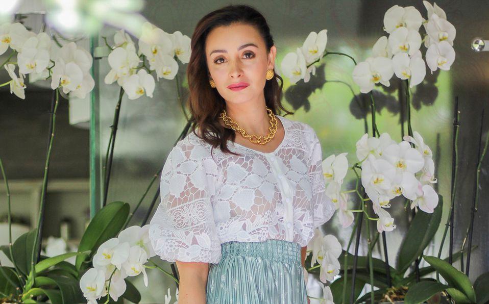 Marcela Barrera es especialista en diseño floral y crea experiencias únicas a través de pequeños y grandes detalles. Foto: Aarón Solís