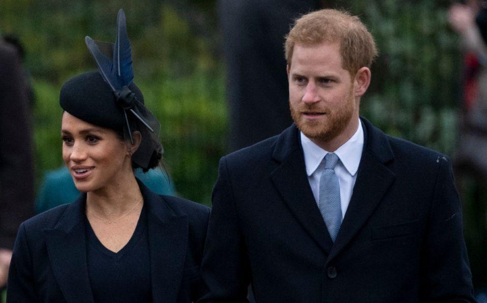 Príncipe Harry llegó al Reino Unido por el funeral de Felipe sin Meghan Markle (Foto: Getty Images)