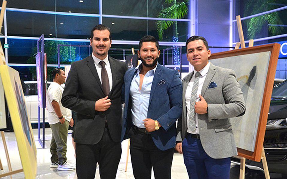 Juan Carlos Hernández de la Torre, Daniel Márquez y David Márquez
