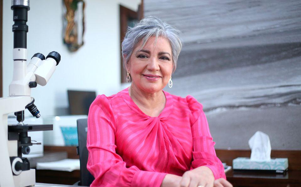 Yolanda Jaramillo habla de las nuevas medidas que tomará Mujeres Salvando Mujeres, A.C. (Fotos: Jaime Jiménez)