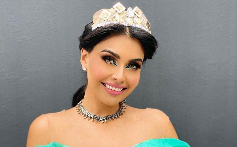 Kristal Silva se vistió de la princesa Jasmine e impresionó a todos sus fans
