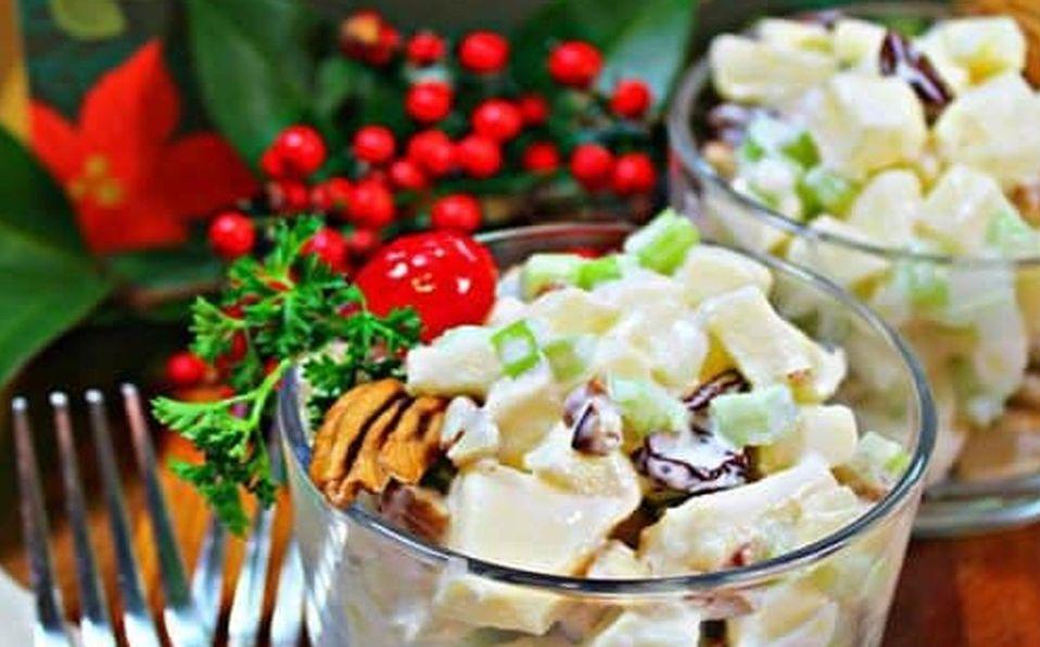 Prepara alguna de estas deliciosas ensaladas navideñas, seguramente te encantarán (Foto: Cortesía)