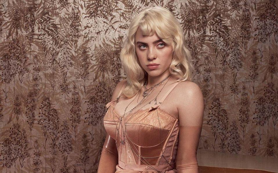 Billie Eilish, rubia y en lencería, ¡es comparada con Marilyn Monroe! (Foto: Instagram)