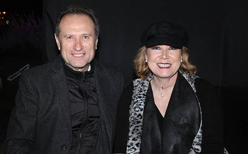 Elí Totoledo y Mariana Ramos