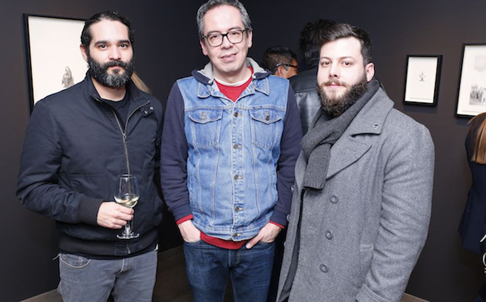 Robert Moore, Romina Zambrano, Alejandro Frías y Charly Escobar (3)