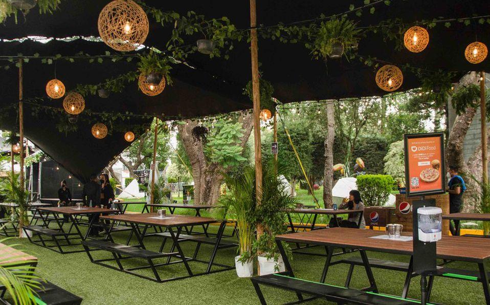 La Terraza Citibanamex está abierta de jueves a domingo (FOTOS: Cortesía).