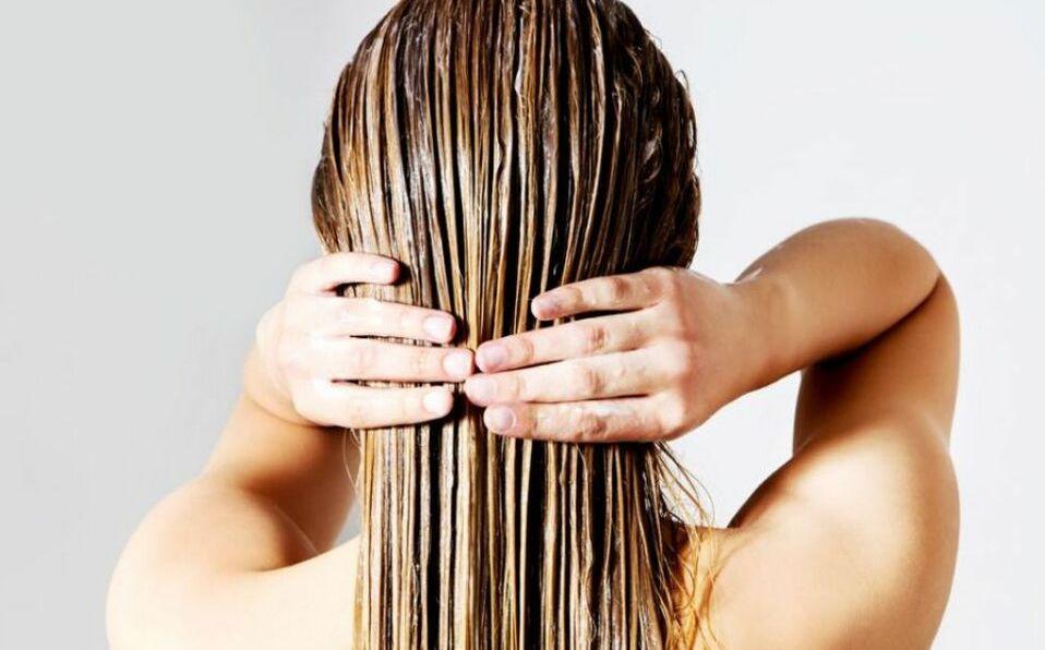 Mascarillas para restaurar el pelo