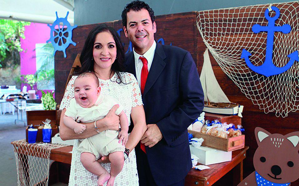 Pablo Taboada, Karen Ahued y Santiago Taboada