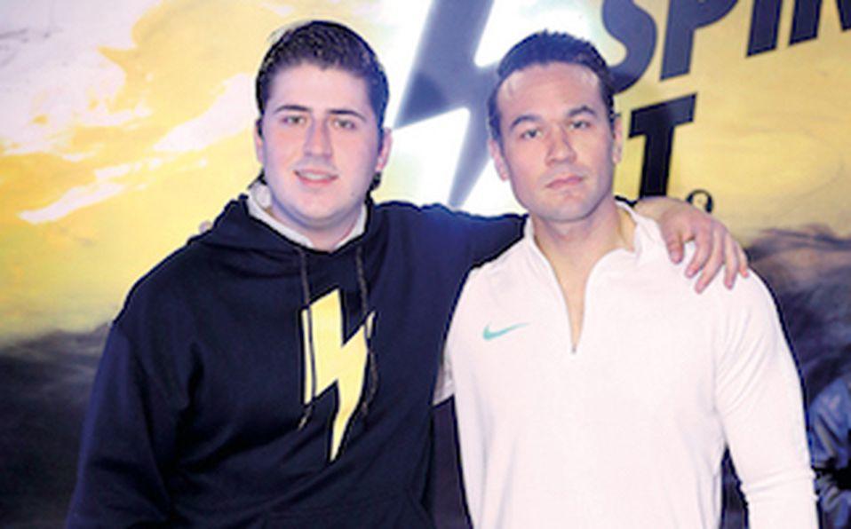 Adrián de la Garza y Roberto Villarreal