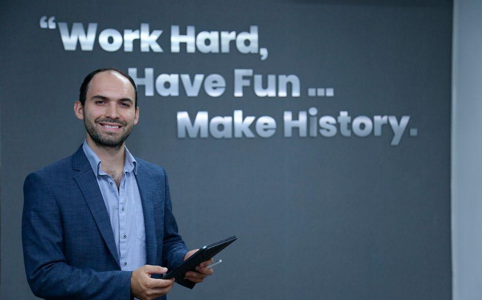 Daniel Seijas desarrolla tecnología innovadora para las empresas (Foto: Cortesía)