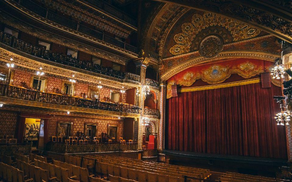 Teatro Juárez en Guanajuato. (Imagen: Shutterstock).