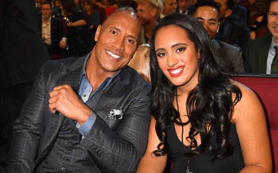 Dwayne Johnson: Quién es su su hija luchadora, Simone Johnson (Foto: Getty Images)