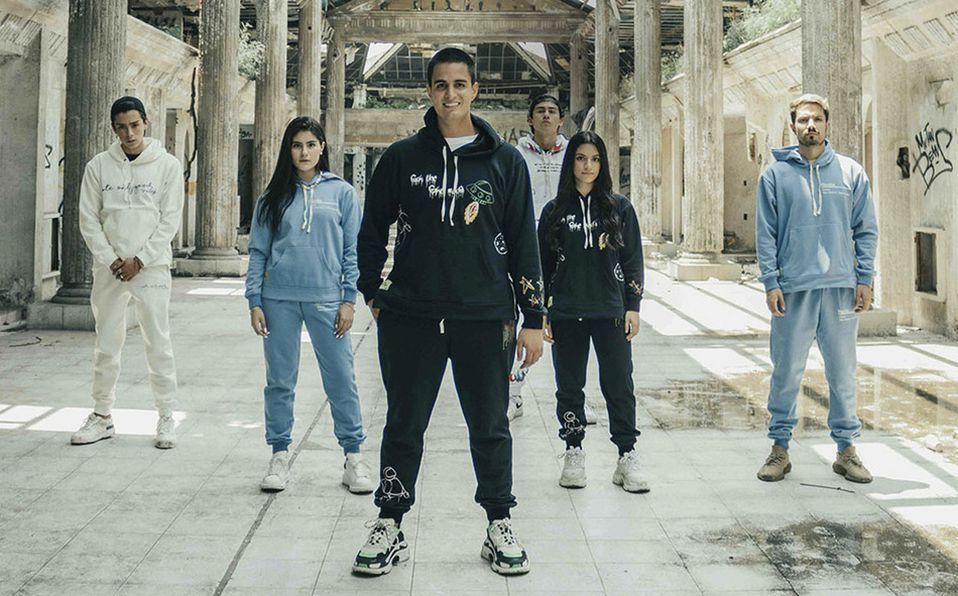 Tito Peláez y su nueva colección de hoodies: Futuristic Design. (Fotos: RODRIGO KURI)