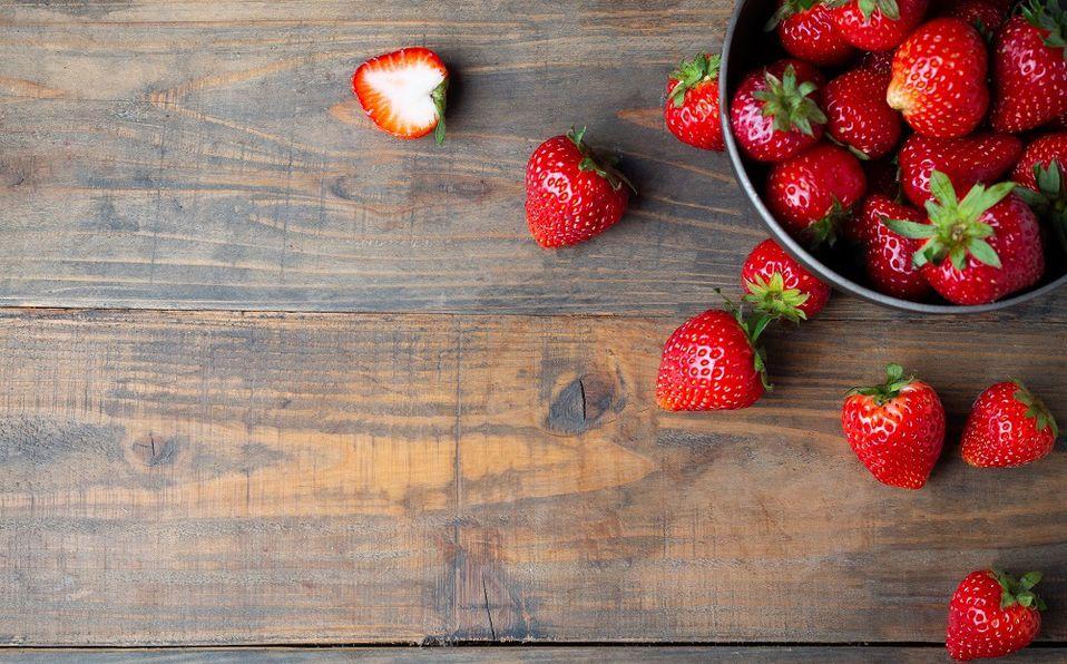 Las propiedades que tiene la fresa beneficiarán a tu piel. Foto: Archivo