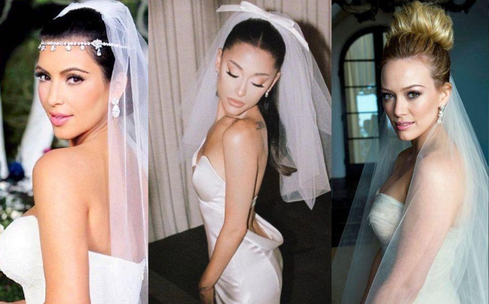 Vera Wang. Famosas que se han casado con sus vestidos de novia.