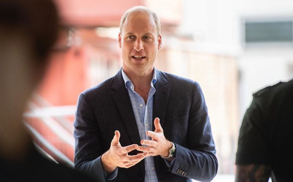 El Príncipe William y  Carlos dejan la cuarentena y hacen sus primeros actos públicos