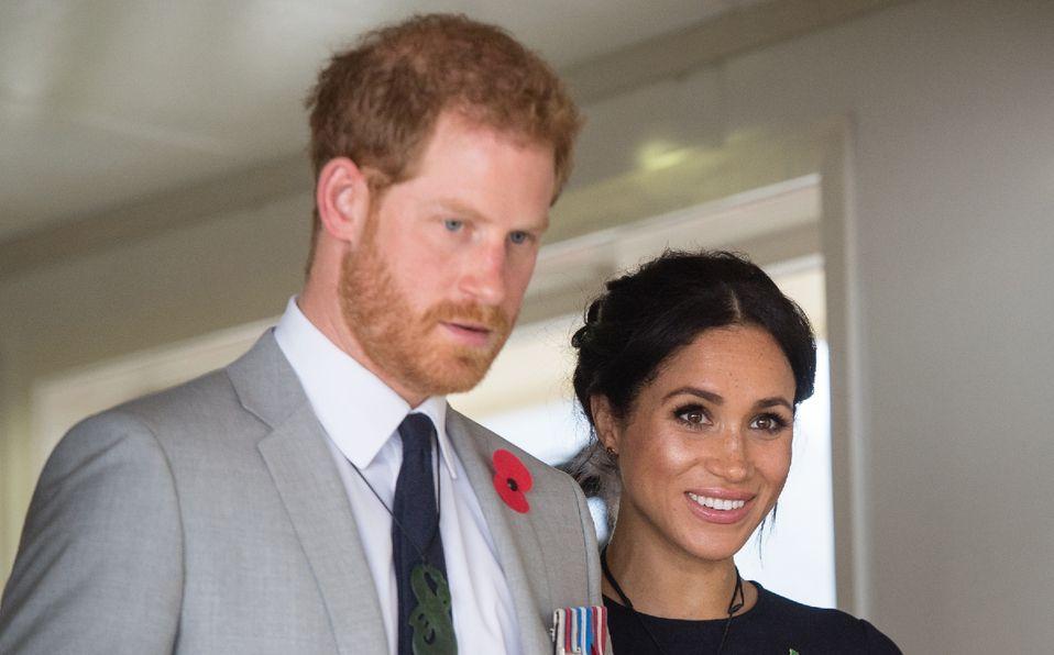 Meghan Markle y el Príncipe Harry abandonan su sello real (Foto: Getty Images)