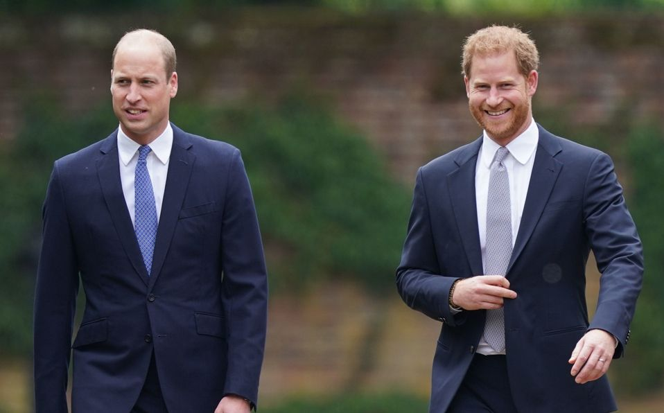 William y Harry se reconcilian en honor a Lady Di (Foto: Getty Images)
