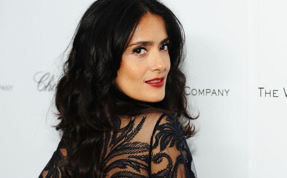 Salma Hayek rechaza el rumor de haberse puesto implantes (Foto: Instagram)