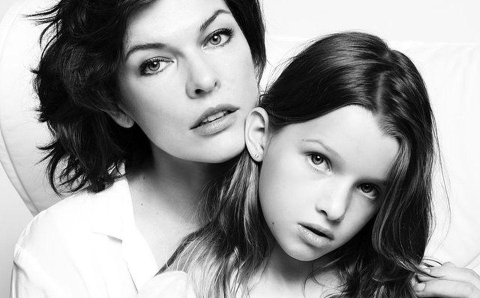 Ever Anderson, la hija de Milla Jovovich que conquistará Hollywood (Foto: Instagram)