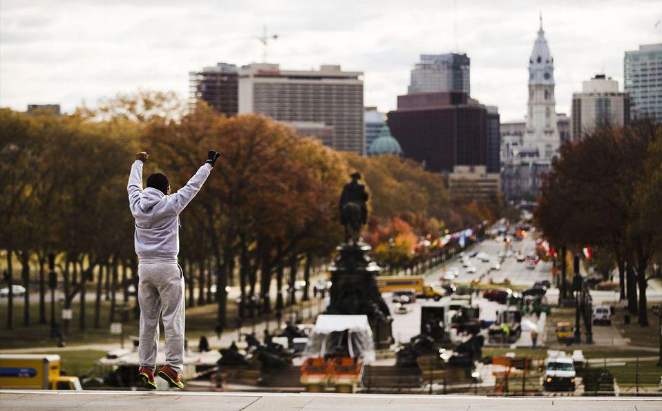 La icónica escena de Rocky subiendo las escaleras fue en Filadelfia ¿Pero sabes en dónde específicamente?