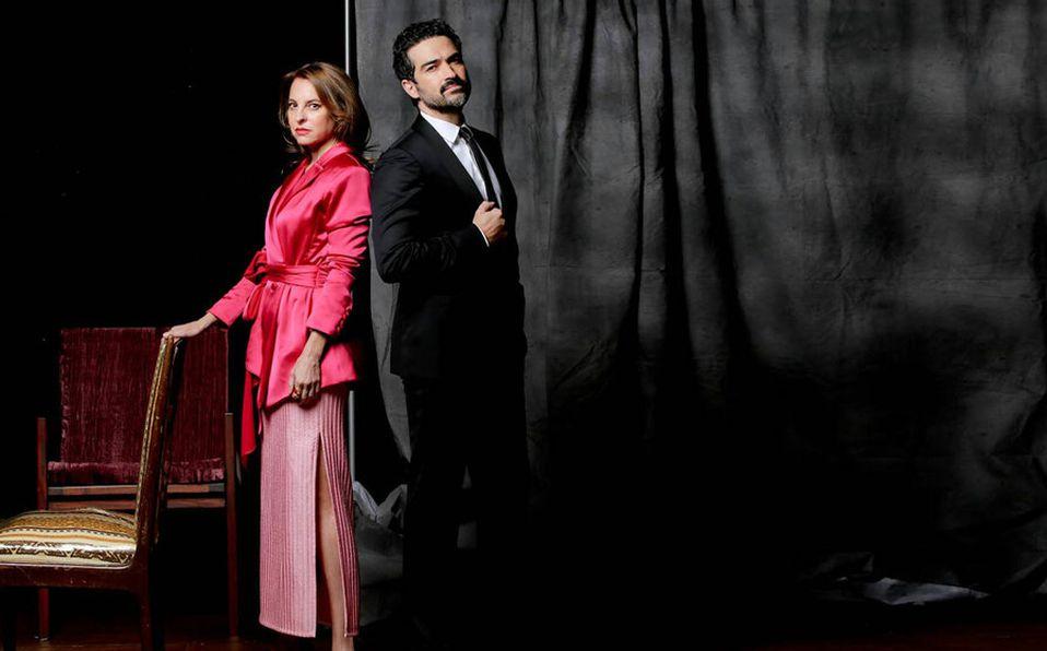 Marina de Tavira y Alfonso Herrera (Fotos: Jaime Martín).