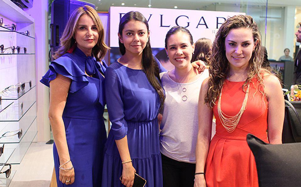 Gaby Sánchez, Hilda García, Gisela Casillas y Silvia Villalobos