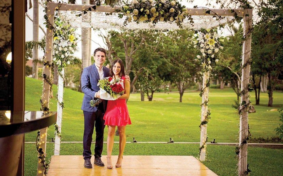 Carlos Fernández y Mariana Ramírez