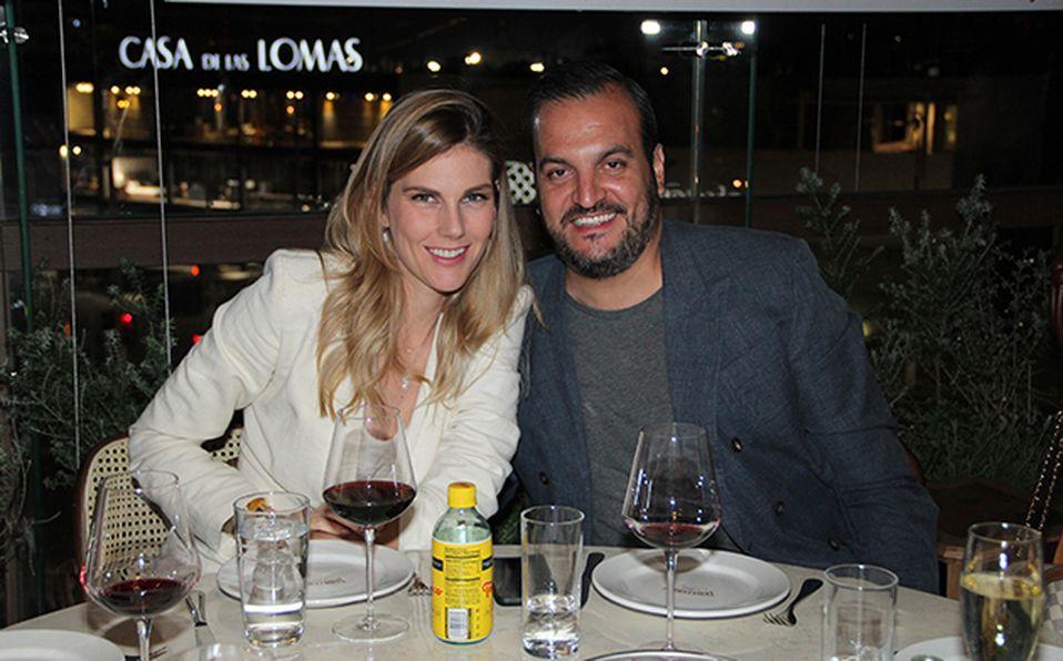 Ayari Anaya y Carlos Ibarra.