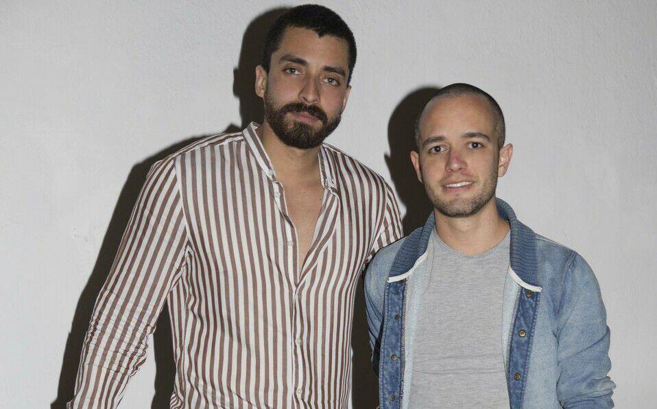 Fernando Urbina y Andrés Lores