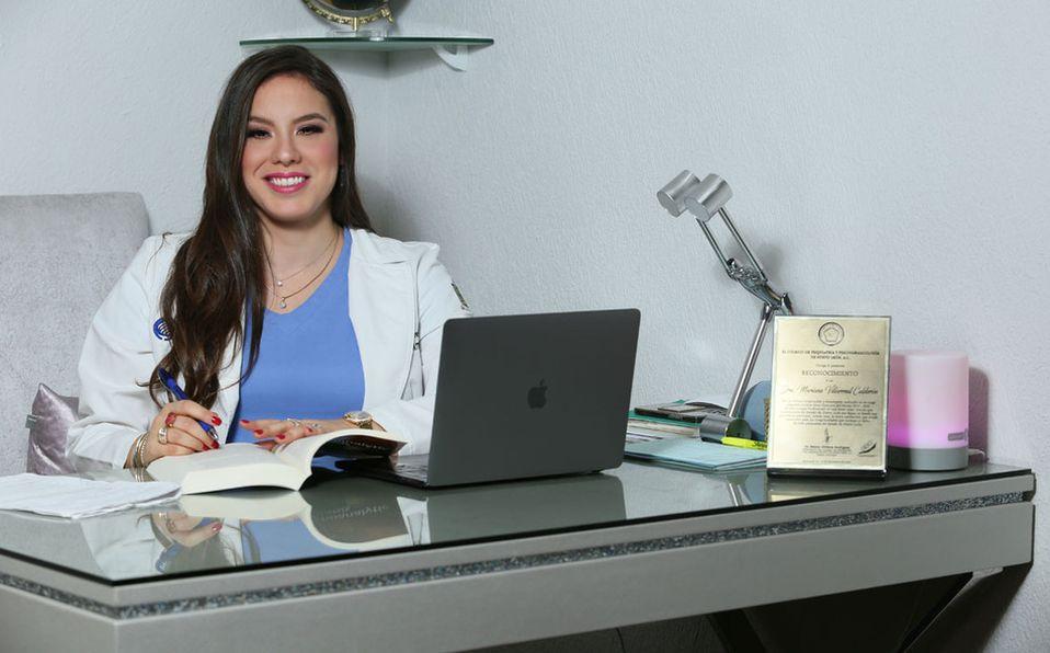 Doctora Mariana V. Calderón / FOTO: OMAR VALDEZ