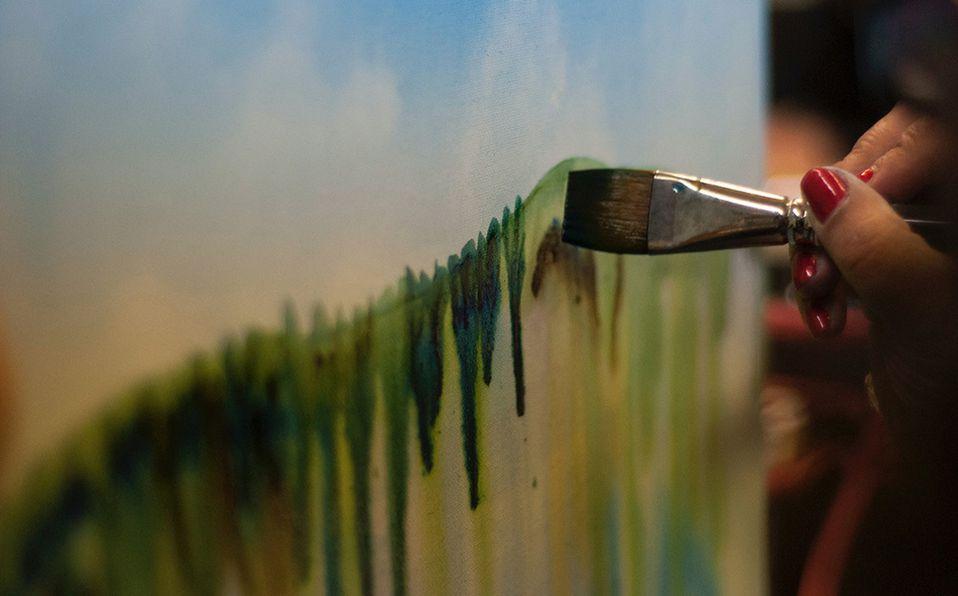 Lecciones para aprender a pintar tu primer cuadro en acuarela. Foto: Archivo