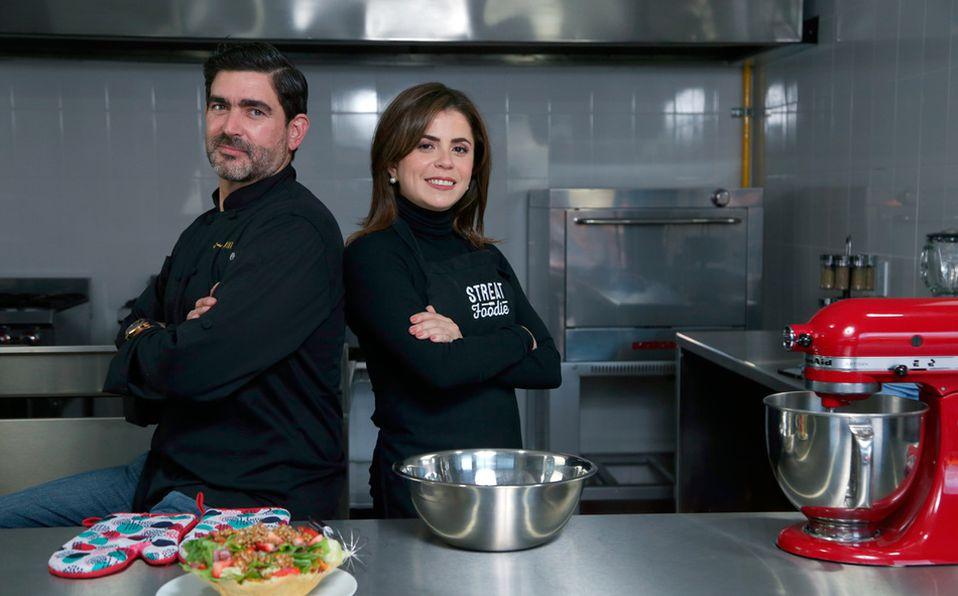 Sofía Gómez y Carlos Finck cocinan para enamorar a beneficio del HECAT (Foto: Jaime Jiménez)
