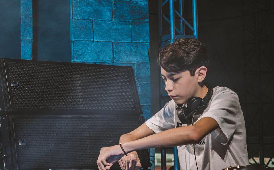 Kid Gus talento emergente de la música electrónica