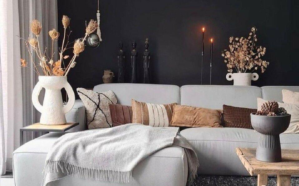 Tendencias decoración otoño invierno 2021 para el hogar. (Foto: Instagram).