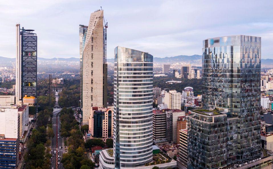 Rascacielos en la Ciudad de México