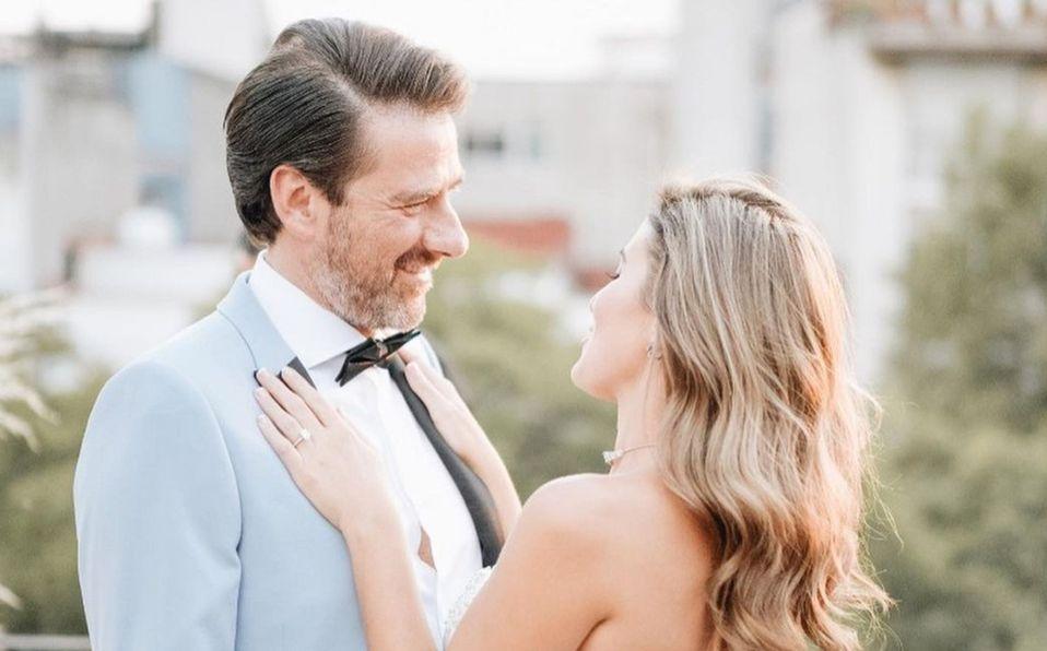 Sofía Rivera y Eduardo Videgaray: Así fue la boda y el vestido de novia (Foto: Instagram)