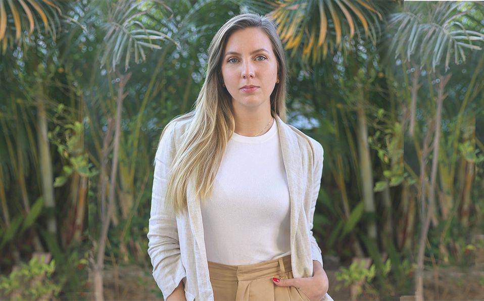 Leticia Herrmann contribuye en el cuidado del medio ambiente no usando ingredientes que provengan de la explotación de los animales. Foto: Aarón Solís