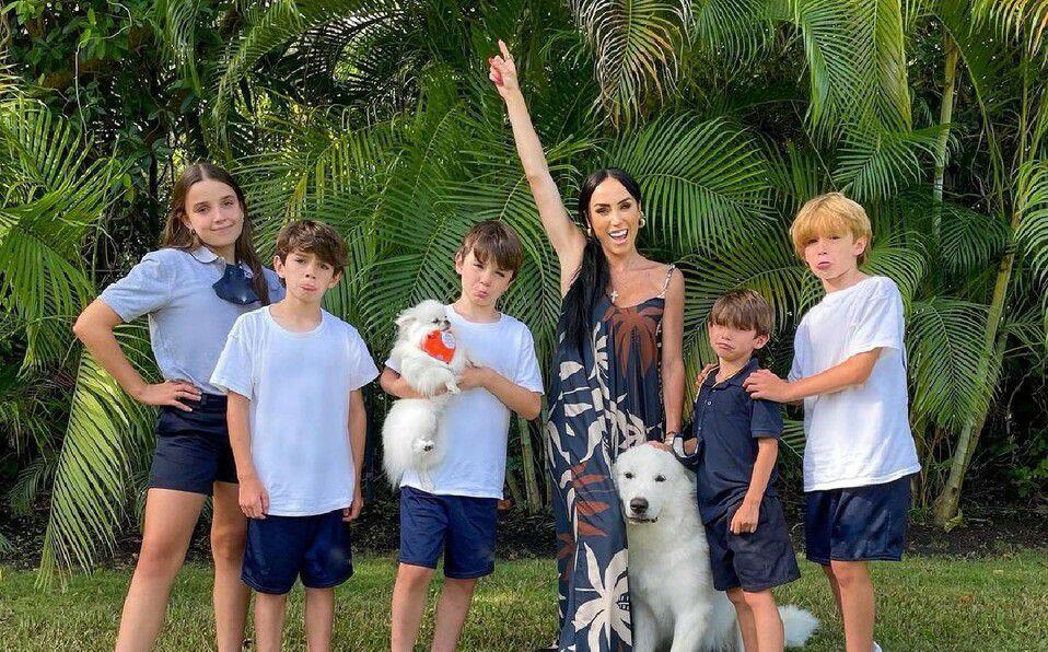 Inés Gómez Mont: Quiénes son los papás de sus hijos. (Foto: Instagram).